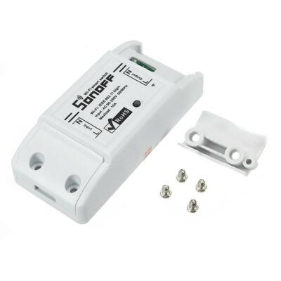 Sonoff Basic WiFi-s, internetről távvezérelhető kapcsoló relé