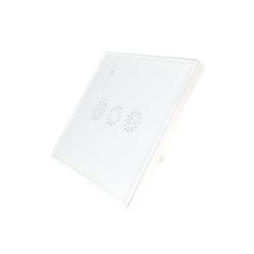 KingArt Dimmer WiFi-s, fényerőszabályzós, érintős okos villanykapcsoló (fehér)