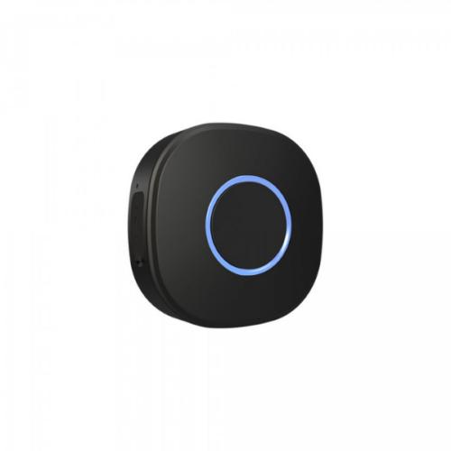 Shelly Button 1 vezetéknélküli, WiFi-s okos távirányító gomb (fekete)