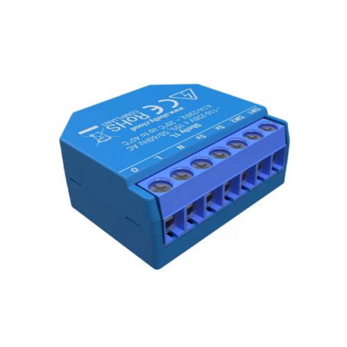 Shelly 1L (csak fázissal működő) Wi-Fi-s okosrelé