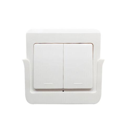 SmartWise RFM2 fali tartóból kivehető, 2 gombos RF (rádiós) fali kapcsoló