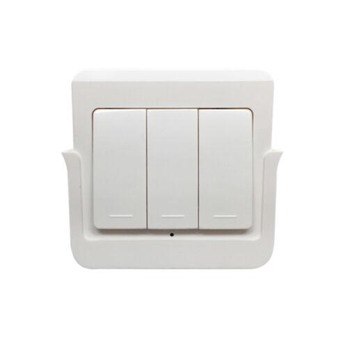 SmartWise RFM3 fali tartóból kivehető, 3 gombos RF (rádiós) fali kapcsoló