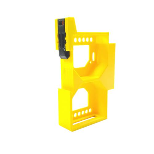Dupla DIN sín tartó / adapter 2 db Shelly RGBW2 / Dimmer / Dimmer 2 okos vezérléshez